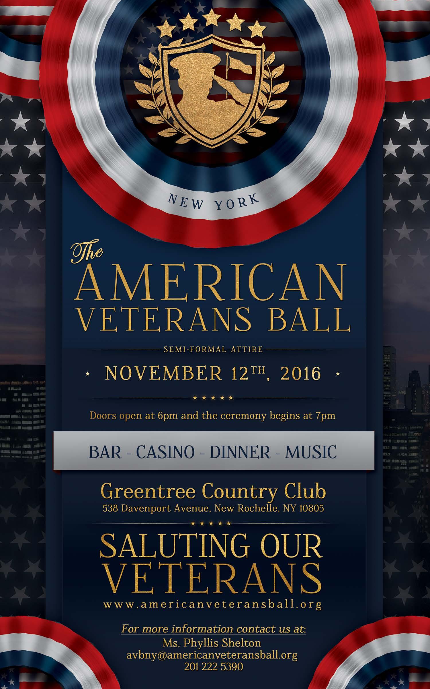 AVB2016-New York – American Veterans Ball (AVB)