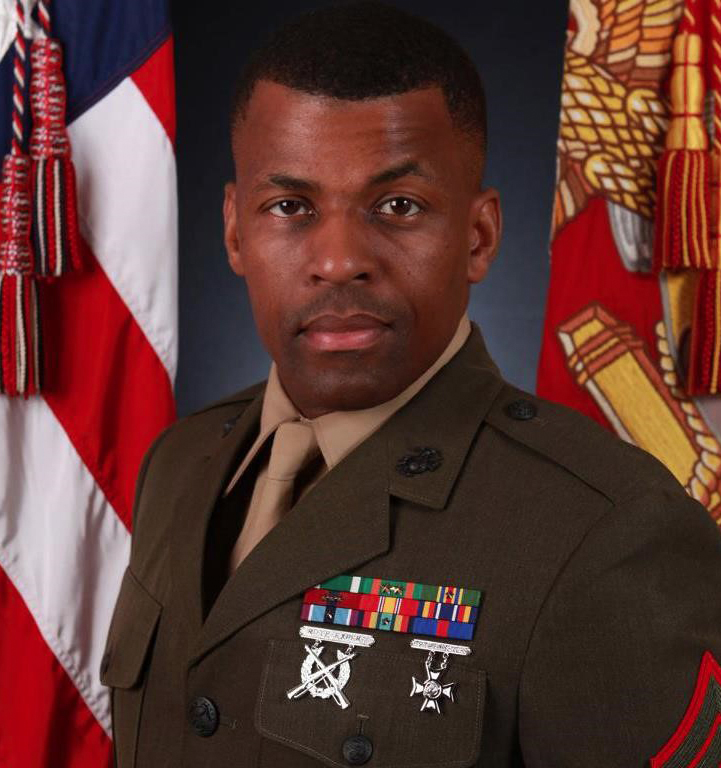 Gunnery Sergeant Madyun Shahid, USMC to Commemorate Fallen Comrades