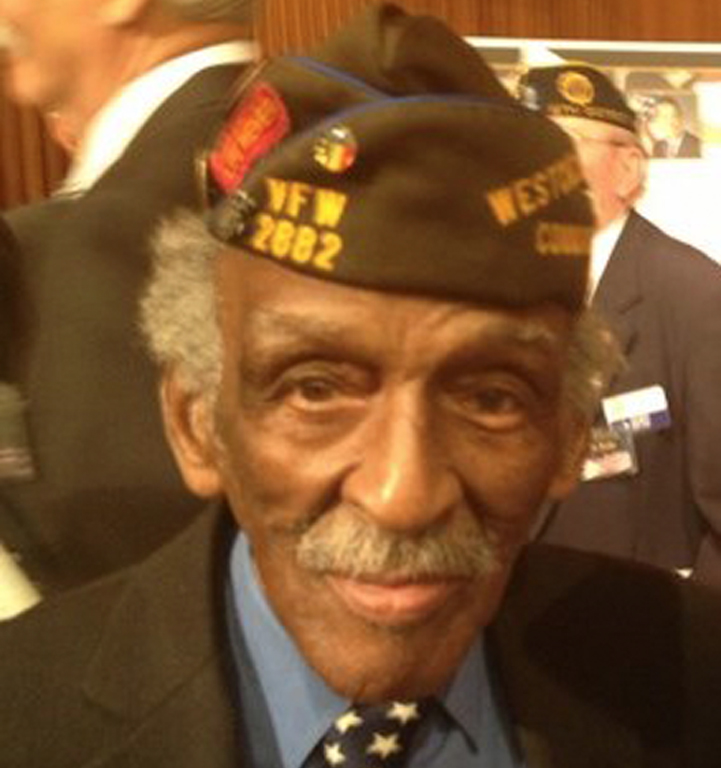 Guest of HONOR for AVB-NY (WW II) U. S. ARMY Veteran Chaplin Bill Moye