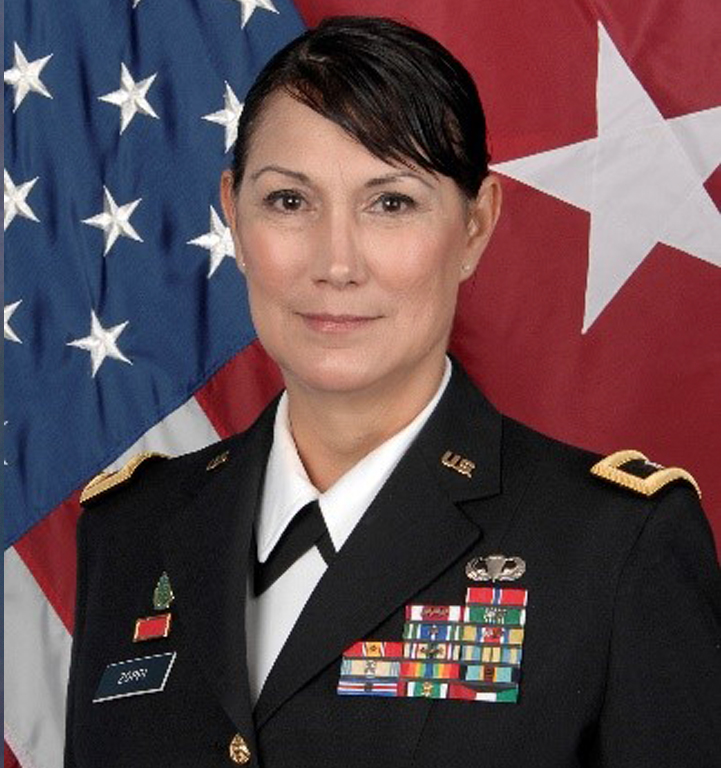 Brigadier General Irene Zoppi (U.S.A.) to Attend the American Veterans Ball on 11 November 2017