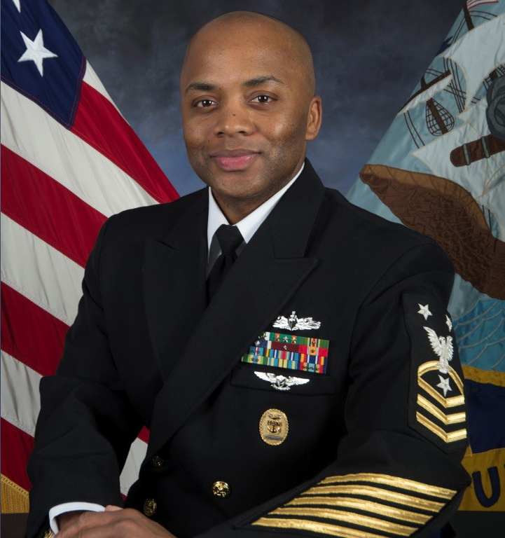 Command Master Chief Mario Rivers, U. S. NAVY to attend the American Veterans Ball