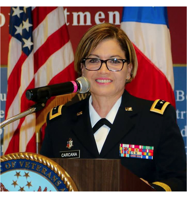 Major General Marta Carcana (Retired) – National Guard of Puerto Rico – to Attend the AVB-VA on 11/11/17