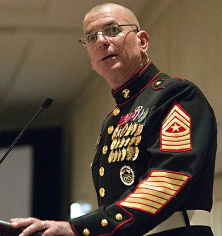 Sergeant Major Bryan Battaglia (USMC-Retired) will be our PASSION & PURPOSE Speaker for AVB2020